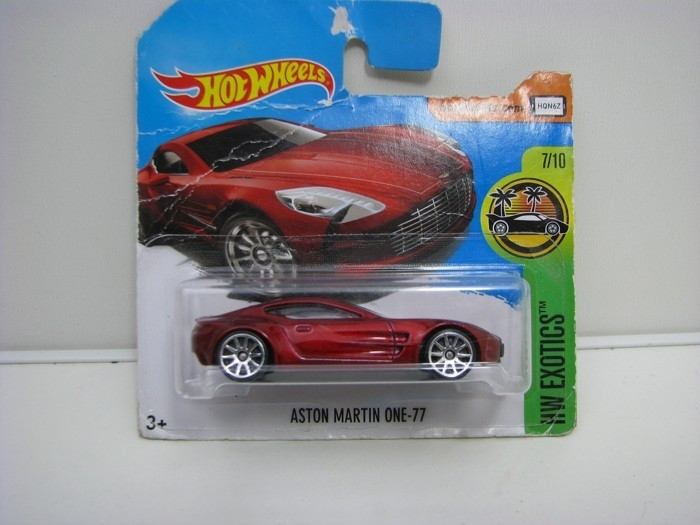 Aston Martin One-77 Red Hot Wheels Exotics-2018